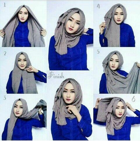 Tutorial Hijab Segitiga