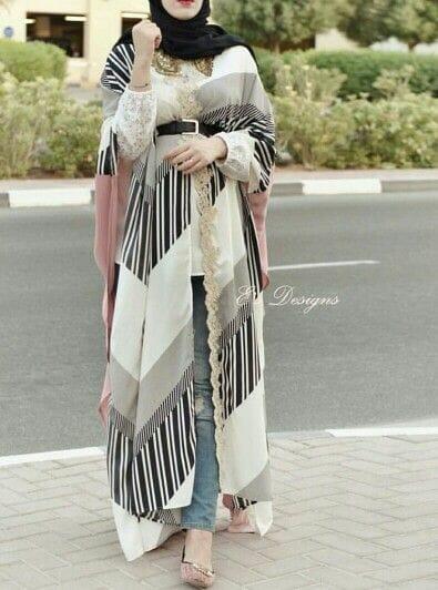 45 Model Baju Muslim Terbaru 2021 Remaja Anak Perempuan Brokat
