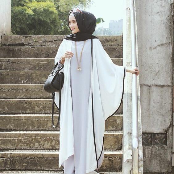 Model Gamis Wanita Polos Terbaru