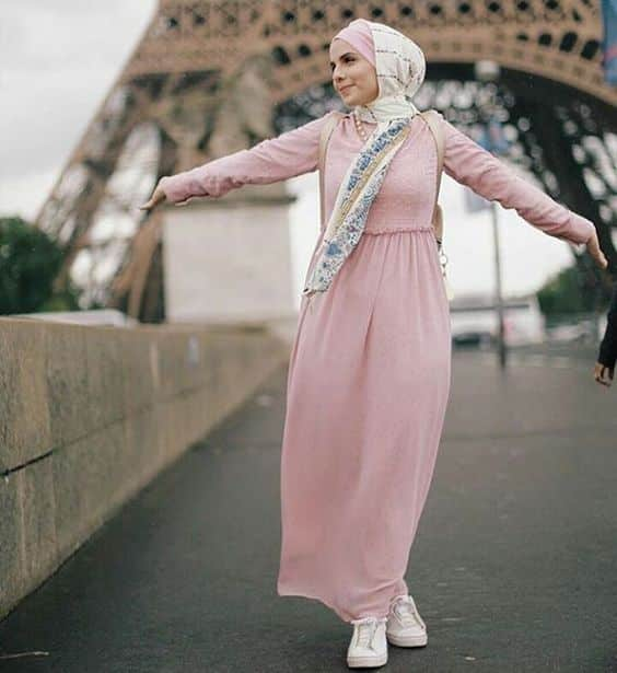 Contoh Model Dress Muslim Modern