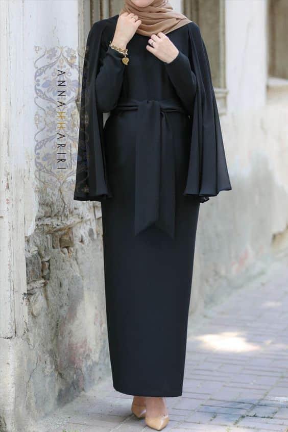Model Gaun Pesta Muslim Modern Elegan Terbaru 2019
