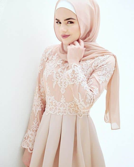 Model Dress Muslim Modern