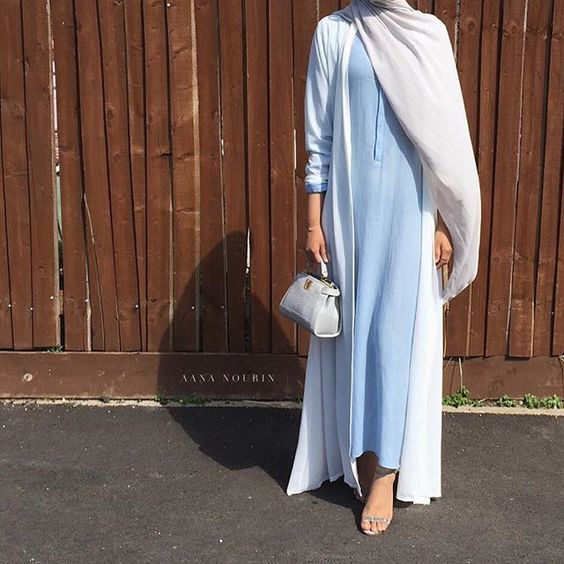 Koleksi Long Dress Muslim 2019