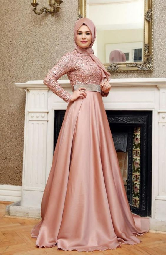 Dress Muslim Pesta