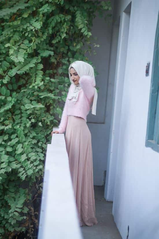 fashion hijab style kekinian