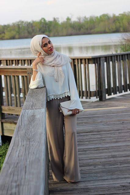 fashion hijab ala korean style