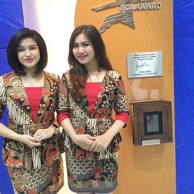 Desain Model Baju Batik Atasan