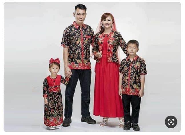 Baju Batik Keluarga