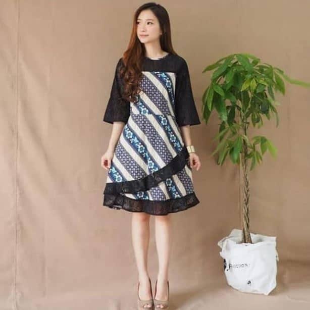 Baju Batik Kerja Wanita