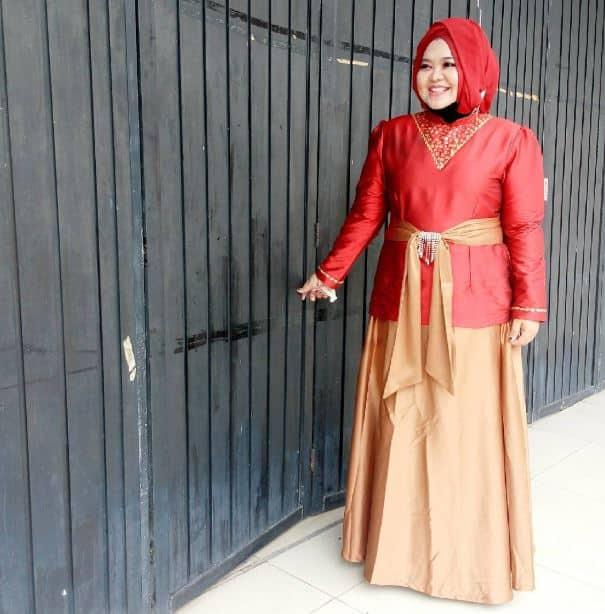 Gaun Pesta Muslim untuk Orang Gemuk