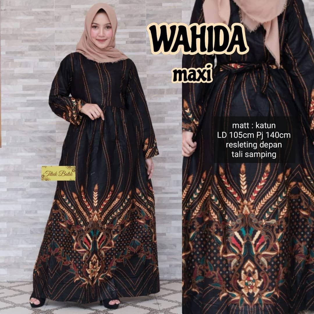 Gamis Batik Modern 2019
