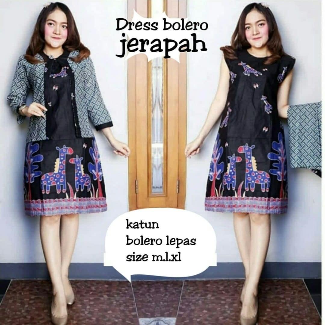 Model Gamis Batik Modern 2019