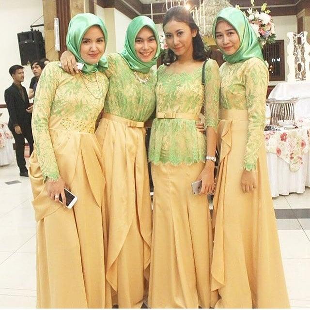 Model Kebaya Muslim Syar'i Modern 2019