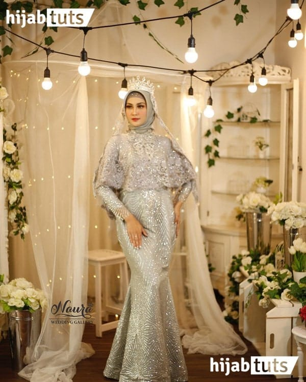 kebaya simple hijab