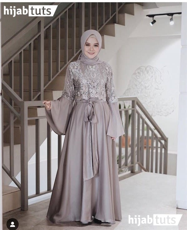 model kebaya muslim syari terbaru kekinian