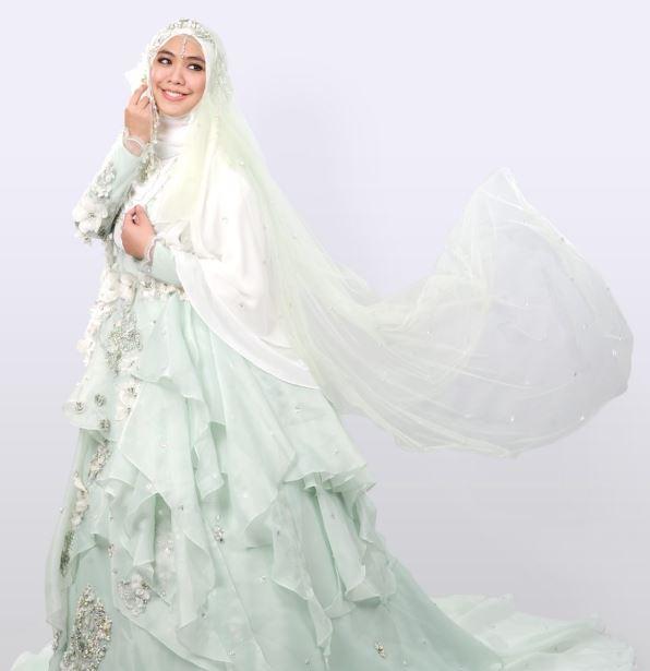 Gaun Pengantin Muslim Dengan Gaya Klasik