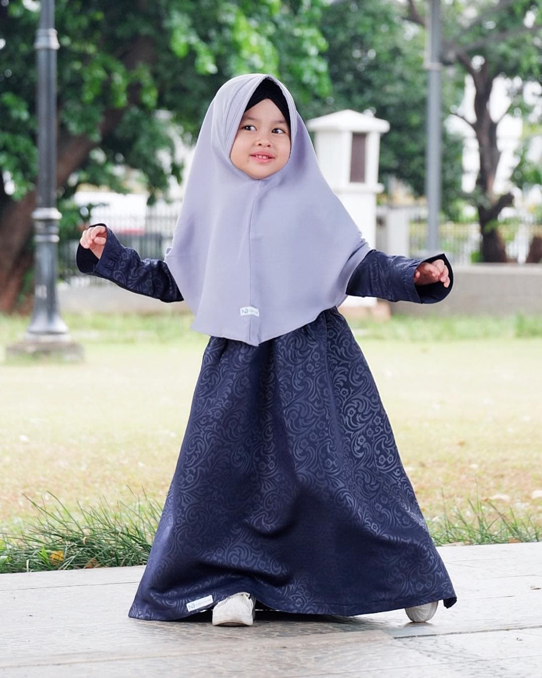 Model Gamis Anak Trendy Modis