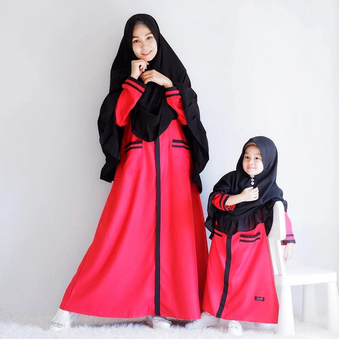 Model Gamis Couple Ibu dan Anak Terbaru