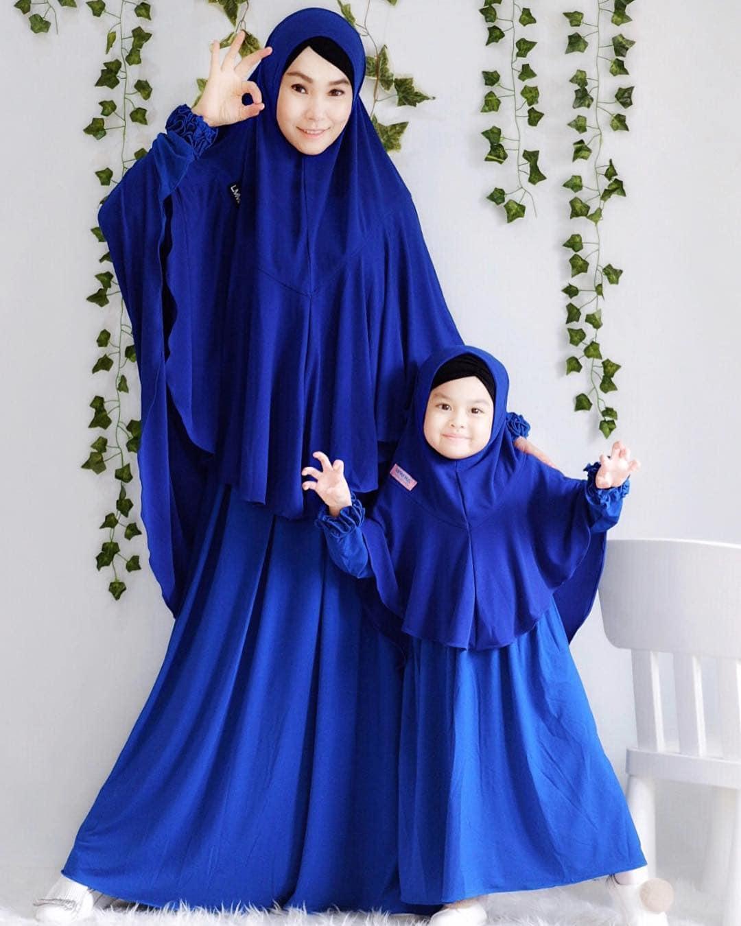 Model Gamis Couple Ibu dan Anak