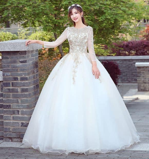 Model Gaun Pengantin Ala Korea