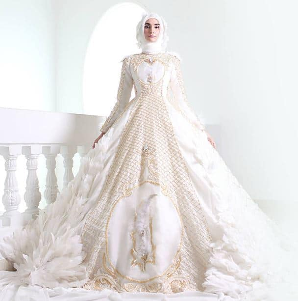 Model Gaun Pengantin Modern dan Simple