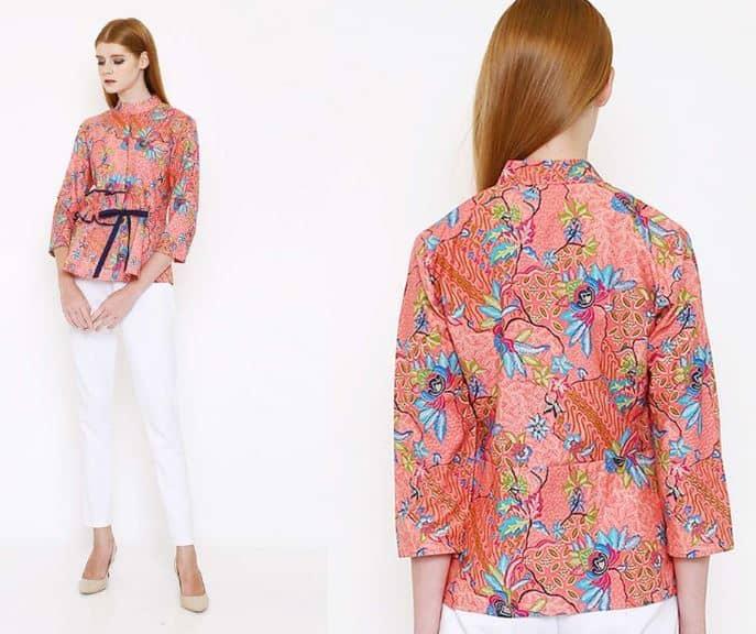 Model Baju Batik Atasan Dan Bawahan Terbaru