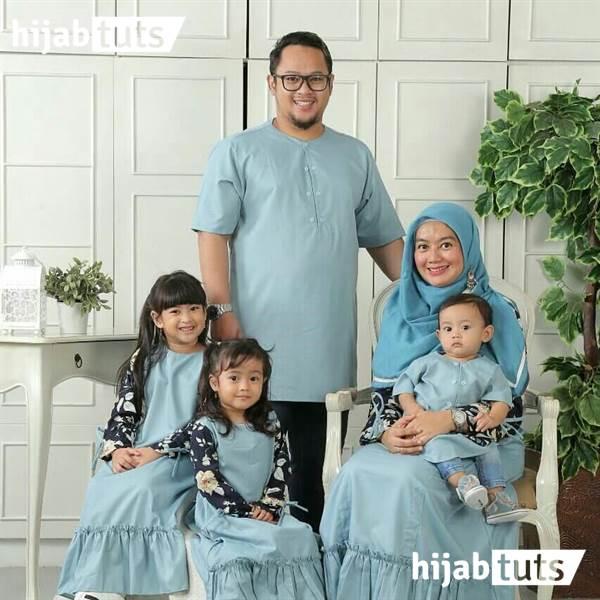 Model Baju Lebaran untuk Se Keluarga