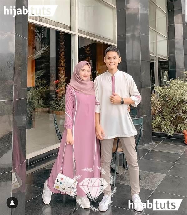 Model Baju Lebaran dengan Couple