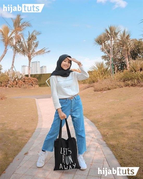 model baju lebaran pake celana