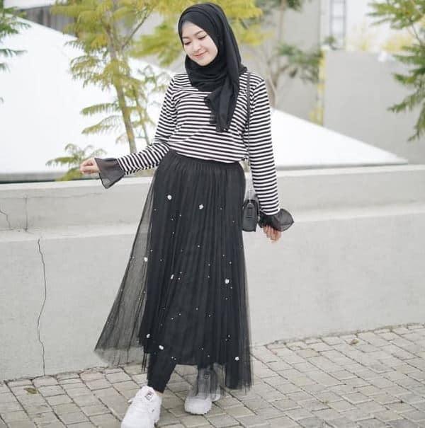 Fashion Hijab Simple yang Mudah Diaplikasikan