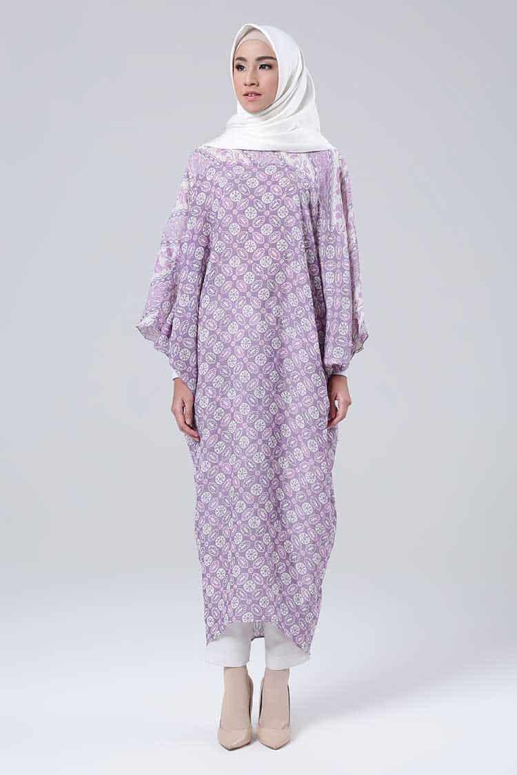 Gamis Batik Model Kelelelawar