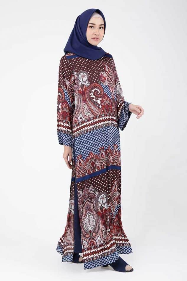 Gamis Batik Model Panjang