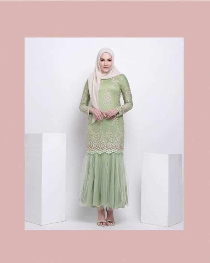 Gamis Batik Tulle