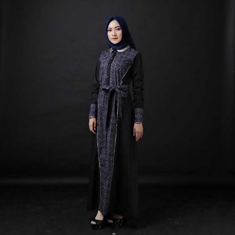 Gamis Batik model Kontemporer