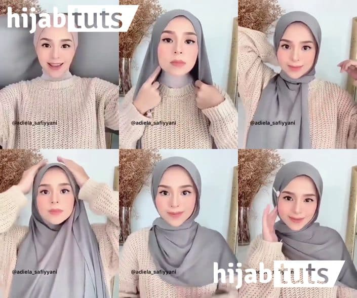 Hijab Pashmina Tutorial untuk Pemula
