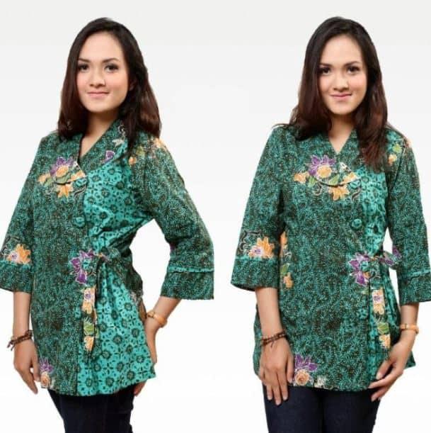 Model Baju Batik Kantor Terlaris Tahun ini