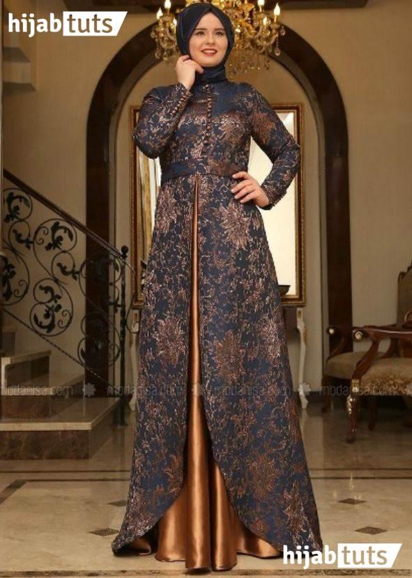 Model Baju Batik Wanita Gemuk Untuk Pesta