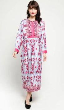 Model Gamis Batik Dengan Corak Beragam