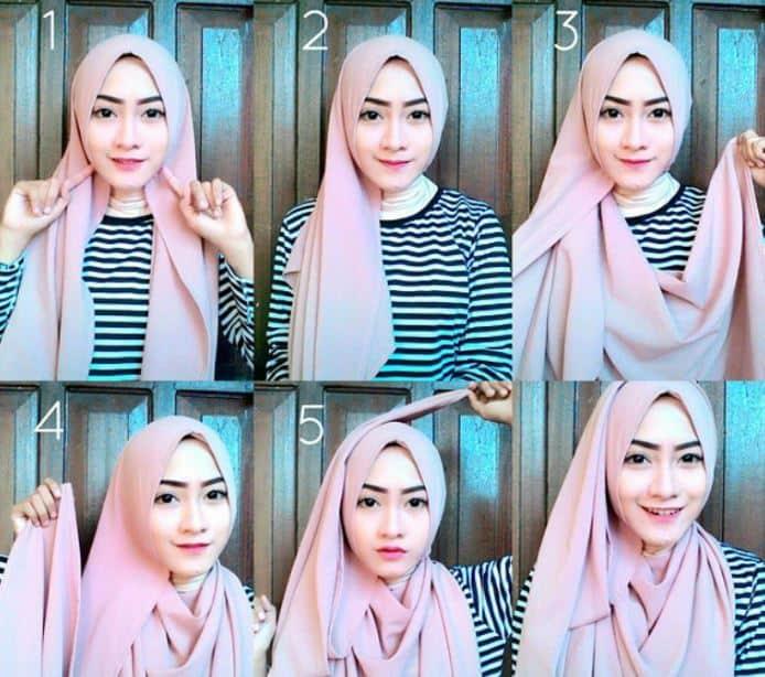 Model Hijab Terbaru Pashmina
