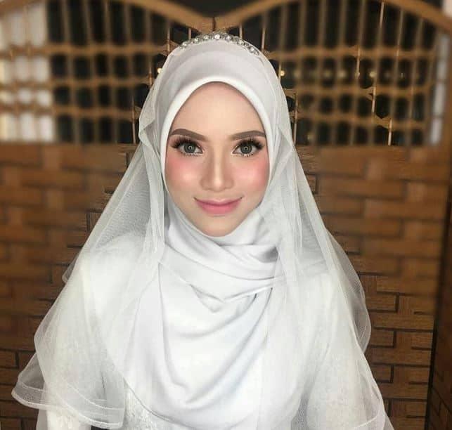Model Hijab Terbaru Pengantin