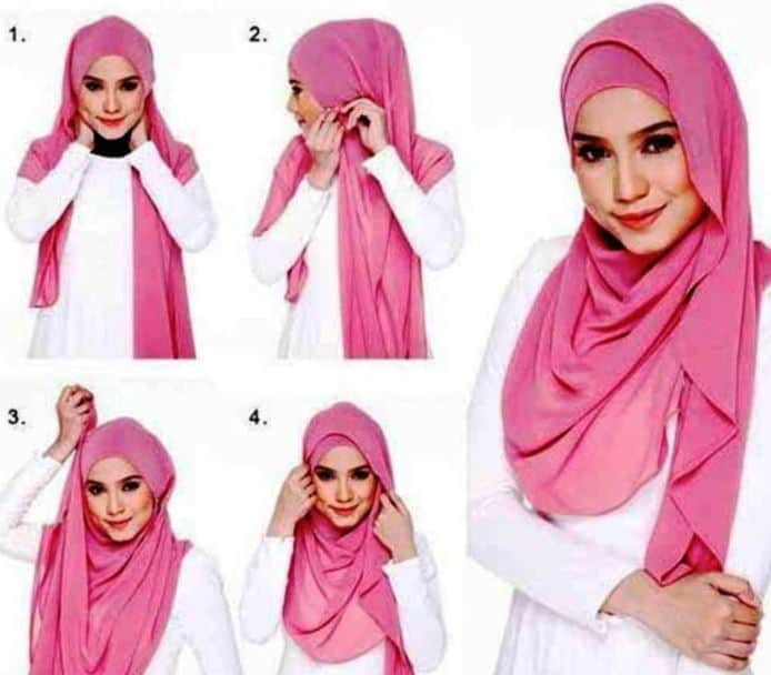 Model Hijab Terbaru yang Simple