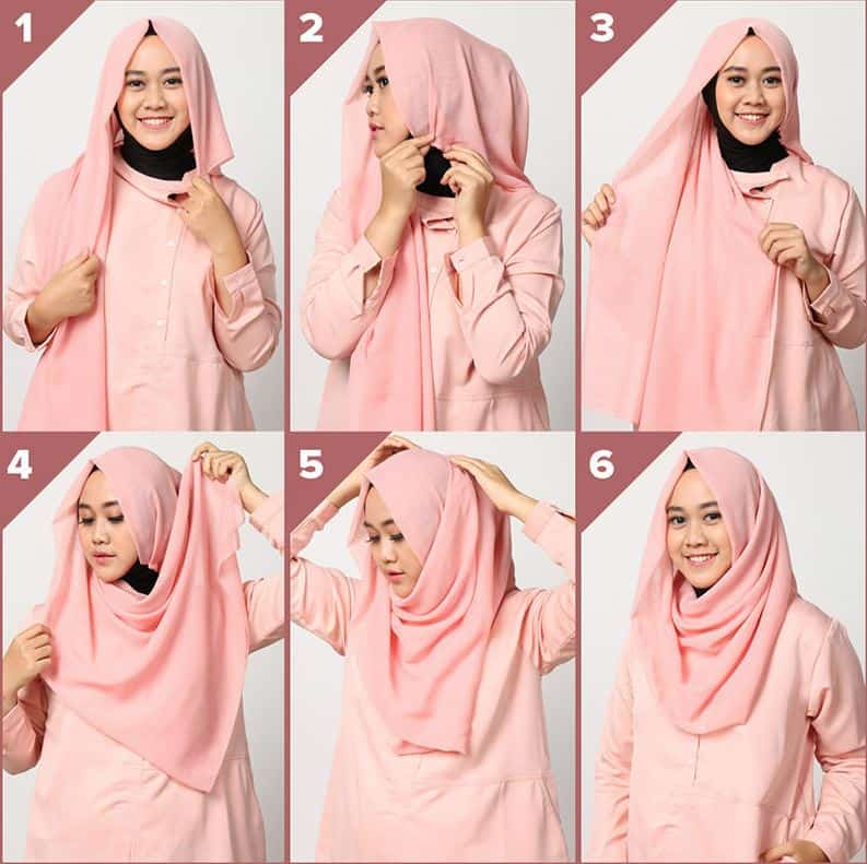 Tutorial Hijab Jaman Sekarang Gaya Sederhana