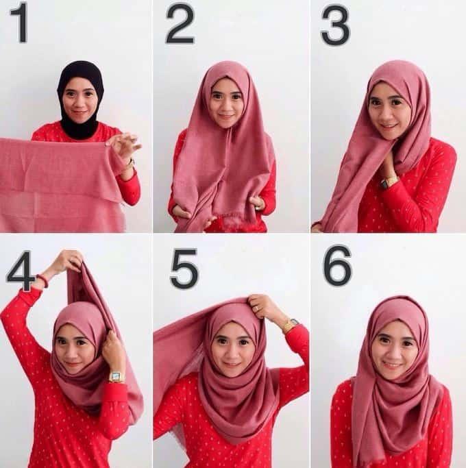 Tutorial Hijab Simple untuk Kerja