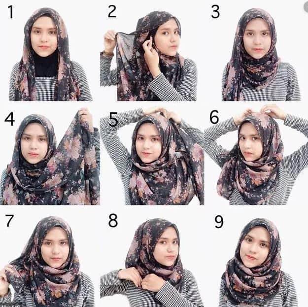 Tutorial Hijab Simple untuk Pemula
