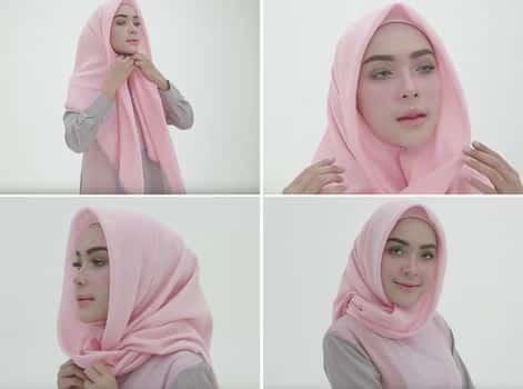 Variasi Model Hijab Segitiga Agar Tidak Bosan