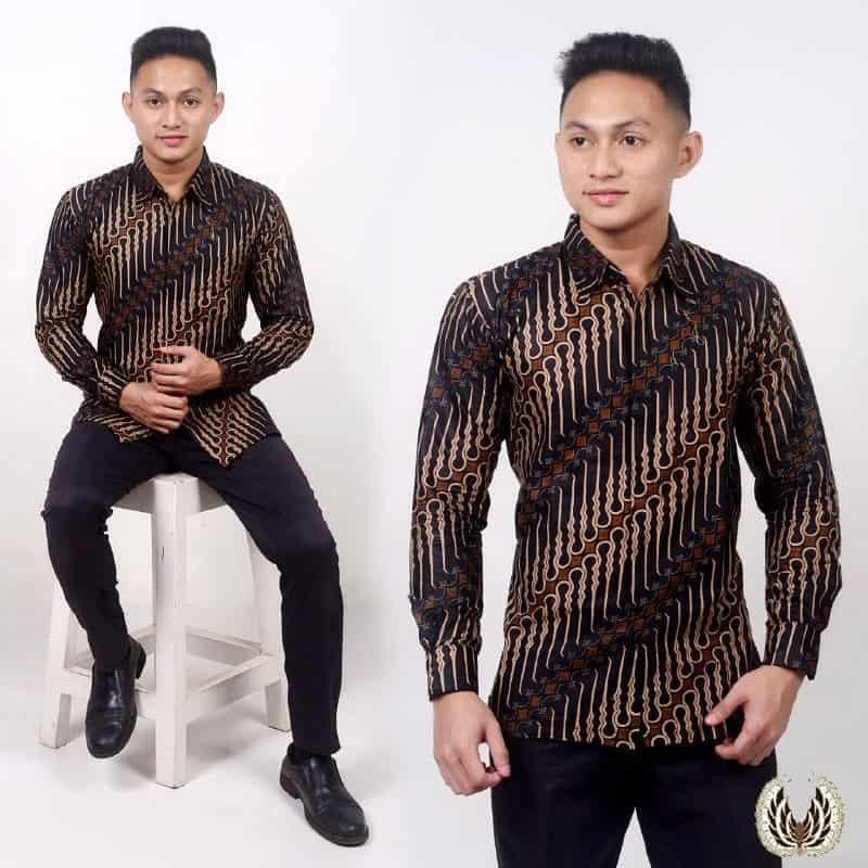 Model Baju Batik Kantor Pria Terbaru