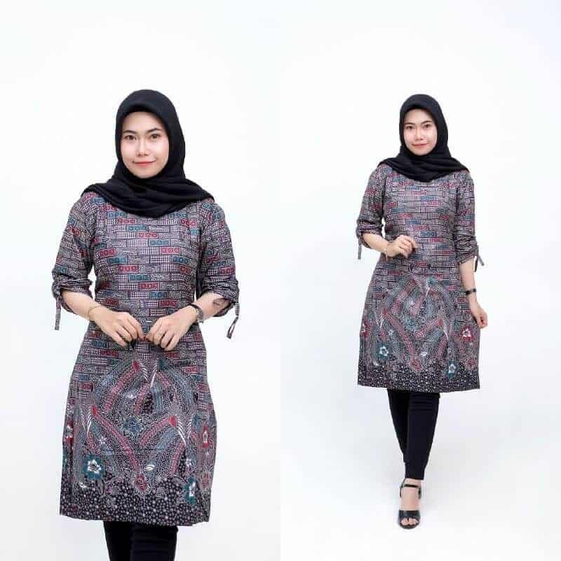 Model Pilihan Baju Batik Kantor Terkini