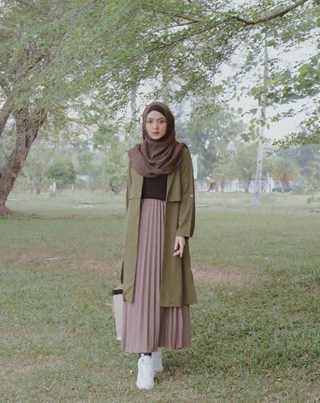 Style Hijab Fashion Masa Kini untuk Pengajian