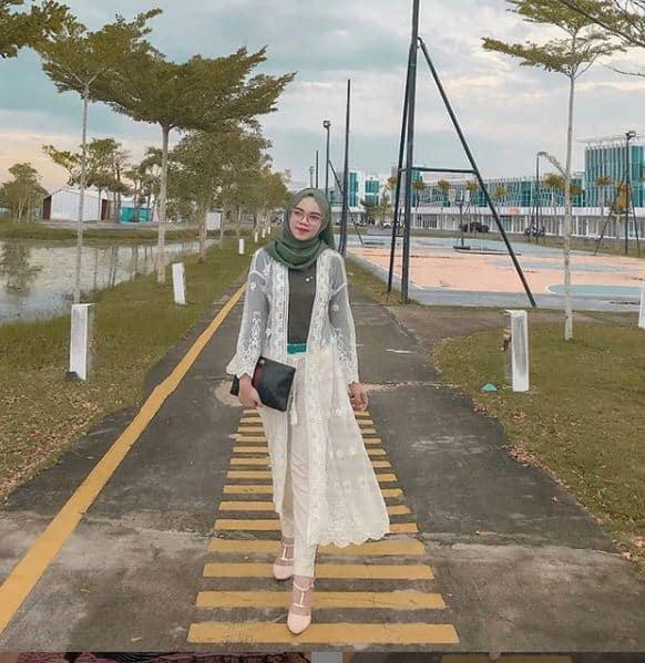 Style Hijab Lebaran Buat Silaturahmi