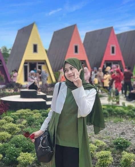 Style Hijab Pasmina Formal